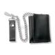 Black Leathre Tri-Fold Wallet - 639