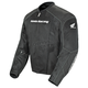 Black Honda Racing CBR Mesh Textile Jacket