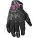 Womens Black/Pink Cat Out'a Hell Gloves