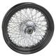 16 in. x 3.50 in. Black 80-Spoke Rear Wheel Assembly w/Twisted Spokes - 16-126