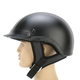Leather Shorty Half Helmet
