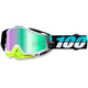 St Barth White Racecraft Goggle w/Green Lens - 50110-155-02
