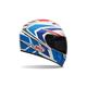 Blue/White/Red Vortex Grinder Helmet