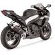 CS One Slip-On Muffler w/Black-Ceramic Coated Muffler Sleeve - 42521