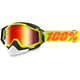 Yellow Racecraft Snow Neon Sign Goggle w/Dual Mirror Red Lens - 50113-004-02