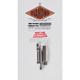 Socket Cap Rear Disc Brake Caliper Mounting Bolt Kit - DE5285SCHP