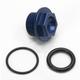 Aluminum Blue Oil Filler Plug - 24-012
