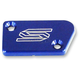 Blue Anodized Front Brake Reservoir Cover - 1801B