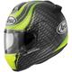 Matte Black/Green Vector-2 Crutchlow Helmet