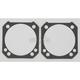 Single-Layer Steel (SLS) Base Gaskets w/4.125 in. bore, .020 in. - C9739