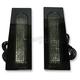Gloss Black Fillerz LED Saddlebag Support  Lights w/Smoke Lens - GEN-FDRS-SMK-B