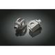Front or Rear Splined Adapter Foot Peg Mounts - 8841