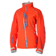 Womens Hot Coral Alpine Parka