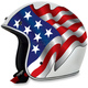 White FX-76 Freedom Helmet