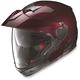 Metallic Wine Cherry N40 Full N-Com Helmet