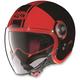 Black/Red N21 Visor Duetto Helmet