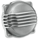 Polished Aluminum Finned CV Carb Top Cover - CT-FIN-HD-PS
