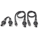 3-Piece Adapter Kit w/SAE Plug to DC 2.5mm Socket - O67