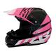 Black/Pink Roost SE Helmet