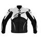 Black/White Atem Leather Jacket