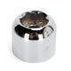 Chrome Rear Axle Nut - 0214-0885