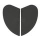 Rubatone Black Sideplates for Airmada Helmets - 0133-0677