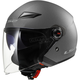 Gunmetal OF569 Track Helmet with Sunshield