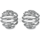 2 in. Chrome Plated Barrel Seat Spring - 001474