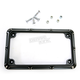 Black Beveled License Plate Frame - 12-144