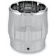 Chrome Elite Sweeper End Cap for Rinehart 4 in. Mufflers - 02042015SWE-CH