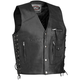 Four Pocket Leather Vest