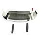 Front White LED Fender Tip Housing w/Smoke Lens - GEN-FT-WS