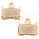 Sintered Metal Brake Pads - DP537