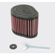 Factory Style Washable High-Flow Air Filter - KA-1408