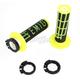 Black/Yellow Emig V2 Lock-On Grips - H34EMBFY