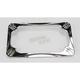 Chrome Deep Cut License Plate Frame - 12-154