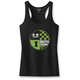 Women's Black Kawasaki Tank Top