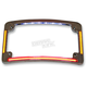 Chrome Radius License Plate Frame - TF05-C