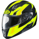 Hi-Viz Green/Yellow/Black CL-Max 2 MC-3H Ridge Modular Helmet