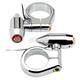 Chrome Vega LED 41mm Fork Mounted Turn Signals w/Amber Lens - 05-58-2C