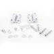 Chrome Fender to Fork Adapter for 21 in. Wheel - 1410-0066