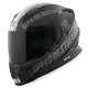 Gloss Black/Silver Cruise Missile SS1600 Helmet