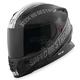 Gloss Black/Silver Cruise Missile SS1600 Helmet