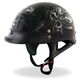 Black Electric Skull Helmet