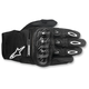 Black Megawatt Hard Knuckle Gloves