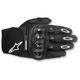Black Megawatt Hard Knuckle Gloves