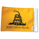 10 in. x 15 in. dont Tread Flag - FLG-DTOM15
