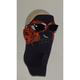 Neoprene Orange Flames Cool Weather Mask