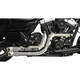 Chrome Fusion Exhaust System w/Chrome Heat Shields and Tips - LA-F100-00