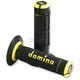 Black/Yellow Domino Dually Grips - A02041C4740